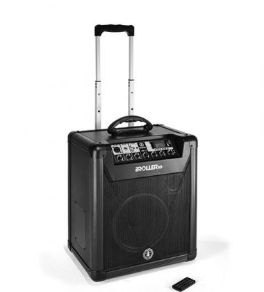 IROLLER10 BATTERY-POWERED PORTABLE PA system